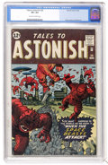 Silver Age (1956-1969):Science Fiction, Tales to Astonish #29 (Marvel, 1962) CGC VF+ 8.5 Off-white to whitepages....