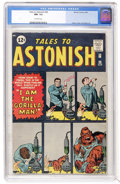 Silver Age (1956-1969):Science Fiction, Tales to Astonish #28 (Marvel, 1962) CGC NM- 9.2 Off-whitepages....