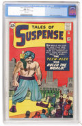 Silver Age (1956-1969):Science Fiction, Tales of Suspense #38 (Marvel, 1963) CGC NM- 9.2 White pages....