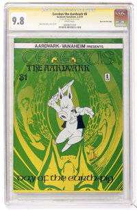 Cerebus The Aardvark #8 Signature Series - Dave Sim File Copy (Aardvark-Vanaheim, 1979) CGC NM/MT 9.8 White pages