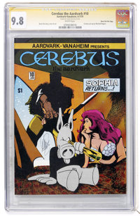 Cerebus The Aardvark #10 Signature Series - Dave Sim File Copy (Aardvark-Vanaheim, 1979) CGC NM/MT 9.8 White pages