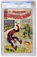 Silver Age (1956-1969):Superhero, The Amazing Spider-Man #5 (Marvel, 1963) CGC VF+ 8.5 Off-white pages....
