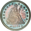 Proof Seated Quarters, 1873 25C Arrows PR66 NGC....