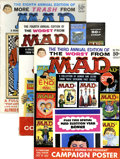 Magazines:Humor, Worst From Mad and More Trash From Mad Group (EC, 1960-65) .... (Total: 4 Comic Books)
