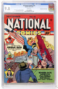 Golden Age (1938-1955):Superhero, National Comics #15 Mile High pedigree (Quality, 1941) CGC NM/MT 9.8 White pages....