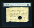 Colonial Notes:Connecticut, Connecticut January 30, 1782 £3 PMG Choice Fine Net 15....