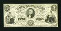 Obsoletes By State:Kentucky, Louisville, KY- Bank of Louisville Branch at Burksville $5 July 4, 1855 (date hard to read). ...