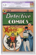 Golden Age (1938-1955):Superhero, Detective Comics #38 (DC, 1940) CGC Apparent VG/FN 5.0 Extensive (P) Cream to off-white pages....