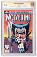 Modern Age (1980-Present):Superhero, Wolverine (Limited Series) #1 Signature Series (Marvel, 1982) CGCNM/MT 9.8 White pages....