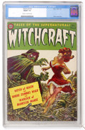 Golden Age (1938-1955):Horror, Witchcraft #5 (Avon, 1953) CGC FN/VF 7.0 Cream to off-whitepages....