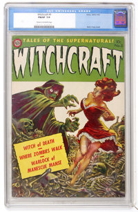 Witchcraft #5 (Avon, 1953) CGC FN/VF 7.0 Cream to off-white pages