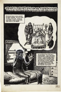 "Original Comic Art:Panel Pages, Jack Jackson (""Jaxon"") Up From the Deep ""The Light In theDistance"" Partial Story Original Art (Rip Off Press, 197... (Total:7 Original Art)"