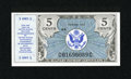 Military Payment Certificates:Series 472, Series 472 5¢ New. ...
