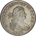 Early Half Dollars, 1803 50C Large 3, 12 Arrows, O-101, R.3, XF45 PCGS....