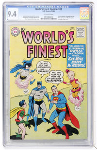World's Finest Comics #113 (DC, 1960) CGC NM 9.4 Off-white pages