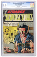 Golden Age (1938-1955):Horror, Strange Suspense Stories #19 (Charlton, 1954) CGC FN 6.0 Off-white to white pages....