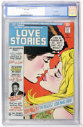 Bronze Age (1970-1979):Romance, DC 100-Page Super Spectacular #5 Love Stories (DC, 1971) CGC VF 8.0Off-white pages....