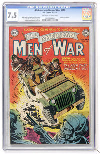 All-American Men of War #128 (#2) (DC, 1952) CGC VF- 7.5 Off-white to white pages