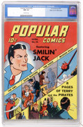 Popular Comics #74 Mile High pedigree (Dell, 1942) CGC NM 9.4 Off-white pages