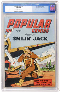Popular Comics #82 Mile High pedigree (Dell, 1942) CGC NM+ 9.6 Off-white to white pages