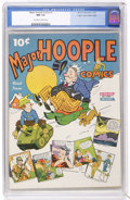 Golden Age (1938-1955):Humor, Major Hoople Comics #1 Mile High pedigree (Nedor Publications, 1943) CGC NM 9.4 Off-white to white pages....