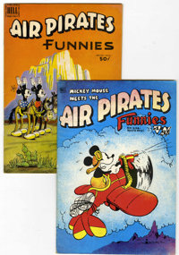 Air Pirates Funnies #1 and 2 Group (Hell Comics Group, 1971).... (Total: 2 Comic Books)