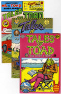 Bronze Age (1970-1979):Alternative/Underground, Tales of Toad #1-3 Group (Print Mint, 1970-73).... (Total: 3 Comic Books)