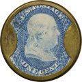 Encased Postage: , HB-225 EP-28 1¢ N & G Taylor & Co. Extremely Fine.... (Total: 2 items)