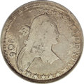 Early Half Dollars, 1806 50C Pointed 6, Stem--Double Struck--Obverse Graffiti--NCS. VGDetails....