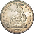Trade Dollars, 1876 T$1 MS64 PCGS. CAC....