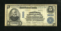 National Bank Notes:Louisiana, Shreveport, LA - $5 1902 Plain Back Fr. 600 The Commercial NB Ch. # 3600. Officers of the Commercial were Murrell and Jo...