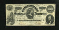 Confederate Notes:1862 Issues, T49 $100 1862. The edges and paper are nice for the grade while thecirculation is spread evenly over the surfaces of the no...