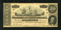 Confederate Notes:1864 Issues, T67 $20 1864. Interesting signatures for this period in our nation's history are found on this Series 1 note - (Miss) M. (J....