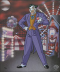"animation art:Limited Edition Cel, ""Classic Joker"" Limited Edition Cel #218/500 Original Art (Warner Bros., 1998). ... (Total: 0)"