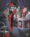 "animation art:Limited Edition Cel, ""Classic Harley Quinn"" Limited Edition Cel #205/500 Original Art (Warner Bros., 1999). ... (Total: 0)"