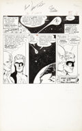 Original Comic Art:Panel Pages, Carmine Infantino and Joe Giella The Flash #131 Co-StarringGreen Lantern page 14 Original Art (DC, 1962)....