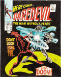 Original Comic Art:Covers, Gene Colan Daredevil #37 Cover Re-Creation Original Art(2001)....