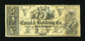 Obsoletes By State:Louisiana, New Orleans, LA- Canal & Banking Co. $5 18XX Remainder. ...