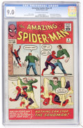 Silver Age (1956-1969):Superhero, The Amazing Spider-Man #4 (Marvel, 1963) CGC VF/NM 9.0 Off-white towhite pages....