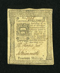 Colonial Notes:Pennsylvania, Pennsylvania March 20, 1773 14s Extremely Fine....