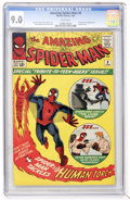 Silver Age (1956-1969):Superhero, The Amazing Spider-Man #8 (Marvel, 1964) CGC VF/NM 9.0 White pages....