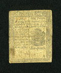 Colonial Notes:Pennsylvania, Pennsylvania April 25, 1776 6d Very Good....