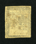 Colonial Notes:Pennsylvania, Pennsylvania October 25, 1775 6d Very Good....