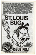 Silver Age (1956-1969):Alternative/Underground, St. Louis Bug #1 (St. Louis Con, 1969) Condition: VF....