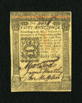 Colonial Notes:Pennsylvania, Pennsylvania October 1, 1773 50s Choice Crisp Uncirculated....