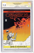 Bronze Age (1970-1979):Alternative/Underground, Cerebus The Aardvark #2 Signature Series - Dave Sim File Copy (Aardvark-Vanaheim, 1978) CGC NM/MT 9.8 White pages....
