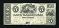 Obsoletes By State:Ohio, Gallipolis, OH- Bank of Gallipolis $5 Nov. 9, 1839. ...