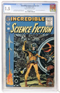 Golden Age (1938-1955):Science Fiction, Incredible Science Fiction #33 (EC, 1956) CGC FR/GD 1.5 Cream tooff-white pages....