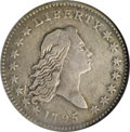 Early Half Dollars, 1795 50C Two Leaves, O-110a, R.3, VF30 NGC....