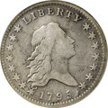 Early Half Dollars, 1795 50C Two Leaves, O-114, R.6--Improperly Cleaned--NCS. VGDetails....